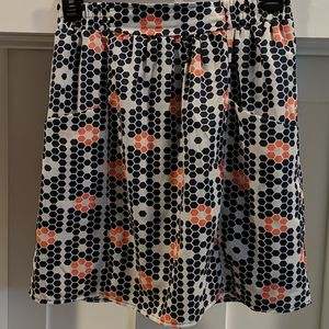 Flirty & Fun Short Skirt With 2 Front Pockets